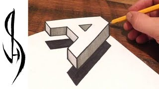 How to draw a 3D floating letter A.  Trick art on paper.  Very easy and fun step by step guide for kids and adults of all ages.My Optical Illusion Book on Amazon!  (step by step guide on how to draw mind bending optical illusions)https://www.amazon.com/dp/1633223558https://www.amazon.co.uk/dp/1633223558Materials used:  110lb cardstock, HB graphite pencil, Sharpie marker pen, kneaded eraserThank you for watching!You can follow me on facebook, instagram and society6 (links below)WEBSITE:    http://www.jonathanstephenharris.comFACEBOOK: https://www.facebook.com/Jonathan.Stephen.HarrisFACEBOOK: https://www.facebook.com/JSHStudioGalleryINSTAGRAM: http://instagram.com/jonathanstephenharrisSOCIETY6:    http://society6.com/JSHartsSAATCHIART:   http://www.saatchiart.com/jshMUSIC:Marxist Arrow by Twin Musicom is licensed under a Creative Commons Attribution license (https://creativecommons.org/licenses/by/4.0/)Artist: http://www.twinmusicom.org/