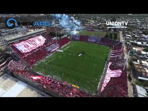 »Video: imágenes exclusivas del impresionante recibimiento a Unión en el Clásico - La Barra de la Bomba - Unión de Santa Fe