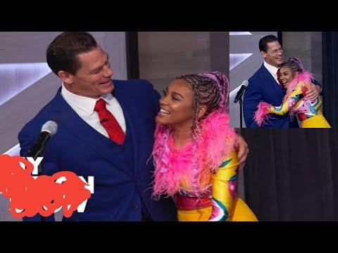 Shocking: John Cena Meets  Sho Madjozi In Real Life