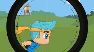 When you try to Snipe Ninja in Fortnite (Animation)