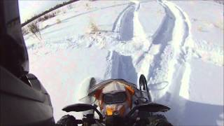 2. 2013 skidoo summit 600 rippin