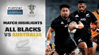 New Zealand v Australia Rd.1 2021 Rugby Championship video highlights