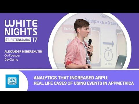 Alexander Neberekutin (DevGame) - Analytics That Increased ARPU