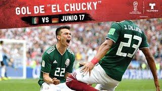 Gol Del Chuky Lozano: Highlight de Alemania vs México | Copa Mundial FIFA Rusia 2018 | Telemundo
