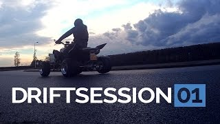 7. Drift Session 01 | Yamaha Raptor 700r | GoPro