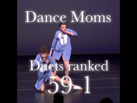 Dance Moms Duets Ranked 59-1