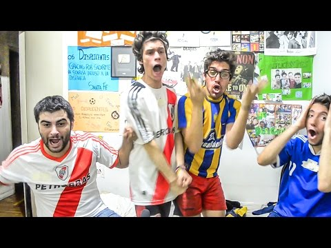 River 4 Central 3 | FINAL Copa Argentina 2016 | Reacciones de Amigos