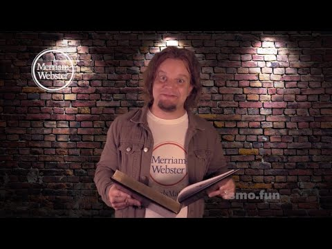 "Some Odd Words With ISMO: ""People Tipping"" - Merriam-Webster"