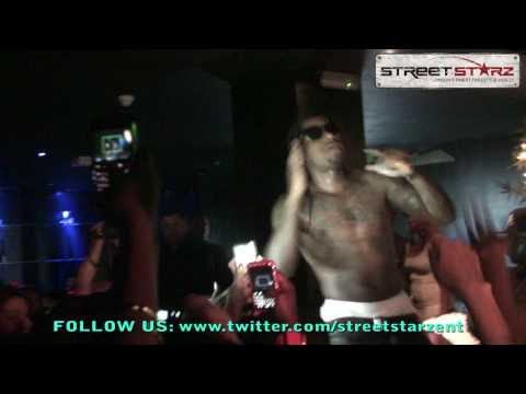 Lloyd Supports Tinie Tempahs 'Passout', Plus gets fans to say 'Free Weazy' and Performs (22/05/10)