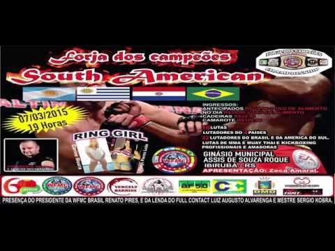 👊Forja dos Campeões South American em Ibirubá RS