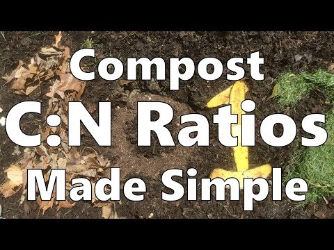 Compost Carbon:Nitrogen Ratios Made Simple