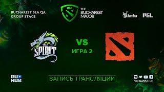 Spirit vs Suicide Team, PGL Major CIS, game 2 [Jam]