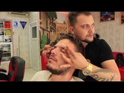 Hairdresser - ASMR Turkish Barber Face,Head and Body Massage 129 