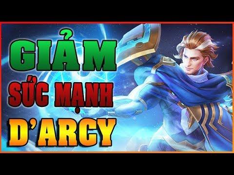 Giảm Sức Mạnh D'ARCY trong phiên bản mới TRANG PHỤC 4.0 - Cách chơi D'ARCY - ARENA OF VALOR D'ARCY - Thời lượng: 16 phút.