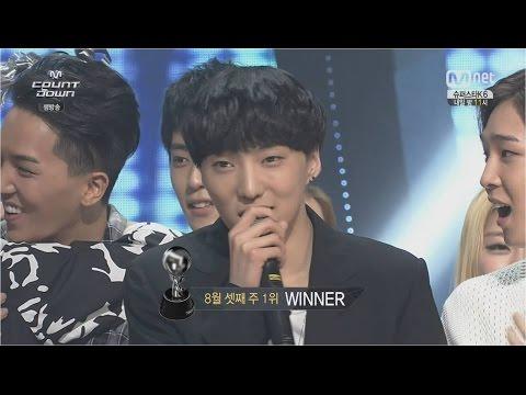 m. - Copyrightⓒ2014 MNET Media Corp. & YG Entertainment Inc. All rights reserved. [WINNER - '공허해(empty)' 0821 M COUNTDOWN : NO.1 OF THE WEEK] #WINNER #위너 #공허해 #empty WINNER's...