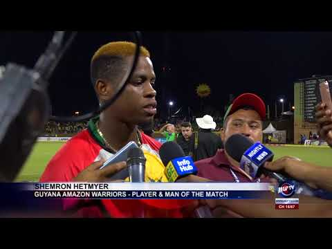 Download GUYANA AMAZON WARRIORS RECORD THEIR FIRST WIN OF THE 2018 CPL TOURNAMENT AT PROVIDENCE HD Mp4 3GP Video and MP3