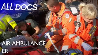 Air Ambulance ER: Teenager Gets Trapped Between Two Cars | Medical Documentary | Reel Truth