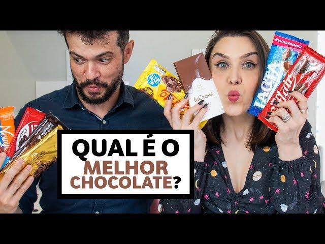 DEGUSTACHATA: Qual o MELHOR CHOCOLATE?? | Lu Ferreira | Chata de Galocha - Chata de Galocha
