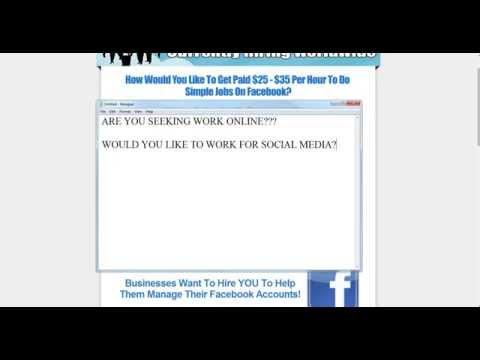 Hourly Facebook Jobs | Social Media Work