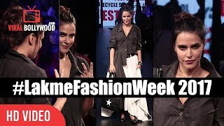 Watch Neha Dhupia At Lakme Fashion Week Summer Resort 2017  #LakmeFashionWeek Company : ViralBollywood ...