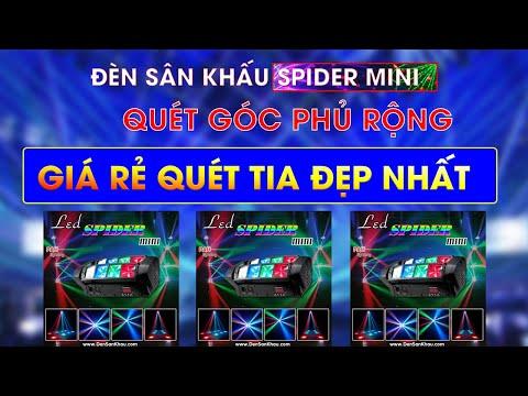Đèn LED Spider Mini giá rẻ trang trí phòng hát Karaoke 20 mét vuông