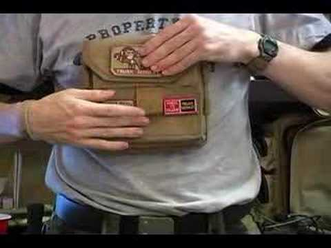 Maxpedition Monkey Combat Admin Pouch Khaki Bag Pouch 9811K