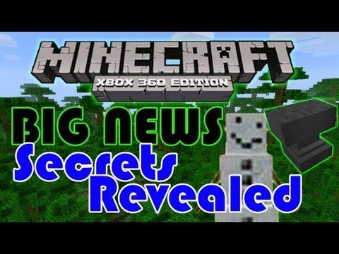 SECRETS FOUND inside of minecraft xbox 360 edition! – Title update/general news | HD