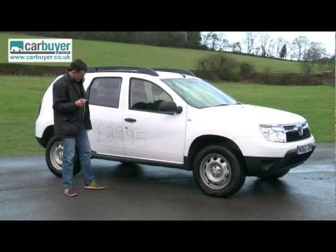 Dacia Duster SUV 2013 review – CarBuyer