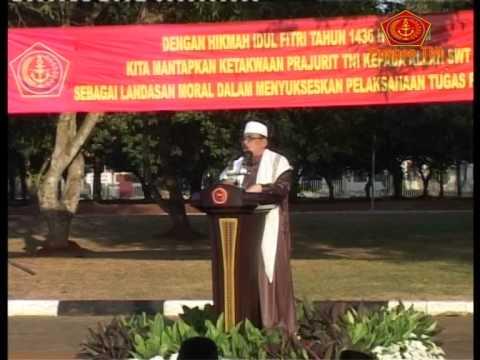 Mabes TNI Selenggarakan Sholat Idul Fitri 1436 H /2015 M