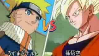 GOKU VS NARUTO   BATALLA BRUTAL O.o- xD