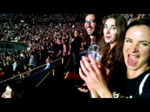 Foo Fighters Dave Grohl with Perry Farrell Live at the LA Forum Sept 22 2015