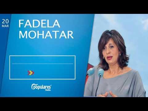 """Fadela Mohatar, considera el refuerzo de controles en el puerto y aeropuerto """"una decisión acertada"""".  """"Debería haber sido así desde el momento en el que se decretó el cierre perimetral de Melilla""""."""
