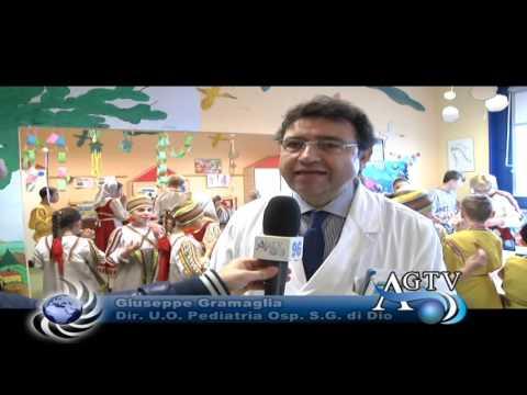 I bambini della Russia all'ospedale di Agrigento