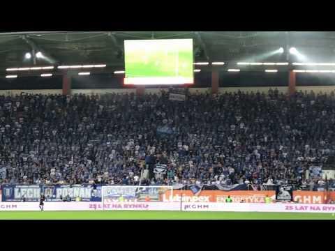 Wideo: Przodek na meczu z Lechem