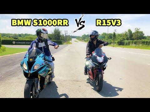 Xe 600 Triệu Khè Xe 80 Triệu Và Cái Kết Mất Luôn Xe | BMW S1000RR VS R15V3 - Thời lượng: 11:24.