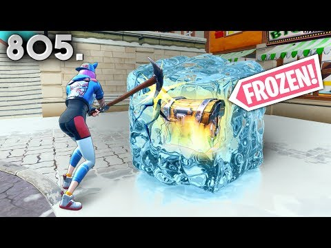 *IMPOSSIBLE* FROZEN CHEST!! - Fortnite Funny WTF Fails and Daily Best Moments Ep. 805