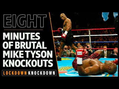 Eight minutes of Mike Tyson knocking people out for fun
