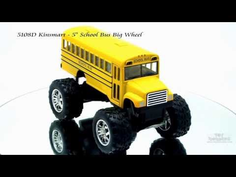 Big Wheel vs Bus - http://www.toywonders.com/ProductCart/pc/p9284.htm 5108D Kinsmart - School Bus Big Wheel . This school bus is 5