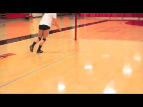 Fitivity Volleyball: Footwork Spikes: Skiing Agility (GetFitivity.com)