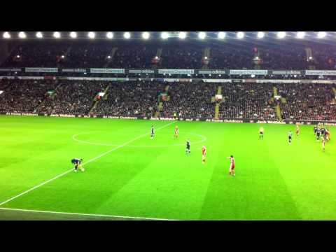 Liverpool Vs Oldham Athletic 6-1-12 (Main Stand) FA CUP 3rd Round