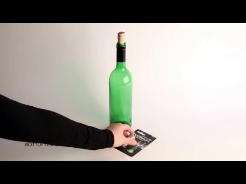 Flaschenlicht BOTTLE LIGHT Video