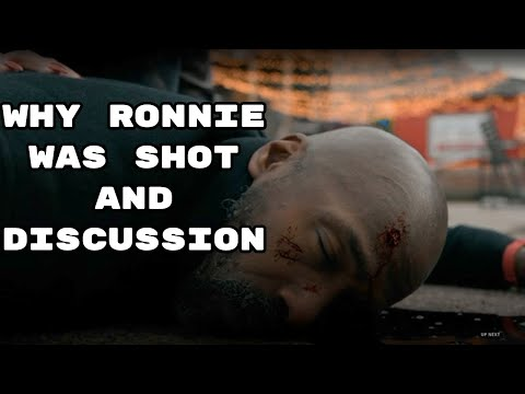 HOW AND WHY RONNIE WAS SHOT AND KILLED!(THE CHI)