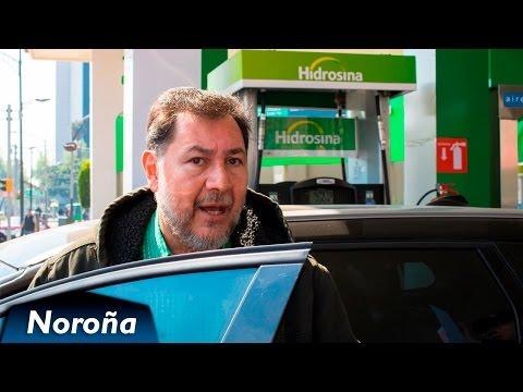 Noroña NO paga IVA en Gasolina - Desobediencia Civil contra el Gasolinazo