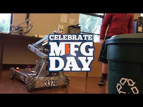 Celebrate Manufacturing Day - Robotics Program Jackson High School
