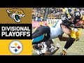 Jaguars vs Steelers | NFL Divisional Round Game Highlights