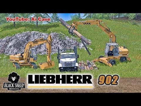 Excavator Liebherr 902 Pack v1.0.0.1