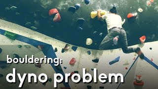 Dyno climbing: Five moves to climb the yellow problem by  rockentry