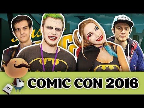 Игромир и Comic Con Russia 2016 - костюмы и косплеерный дэб