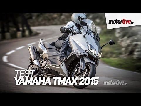 Tmax_530 - ESSAI YAMAHA TMAX 530 2015 - Pas de changement majeur pour la star des maxiscooters en 2015, mais le Tmax bénéficie de retouches techniques et esthétiques pe...