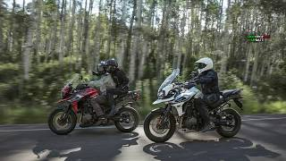 6. 2018 Tiger 800 XC & XR and the new Tiger 1200 XC & XR : REVIEW